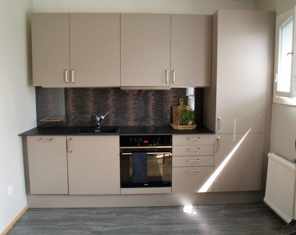 Kaksion keittion ja olohuoneen paivitys
